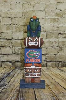 Florida Gators Collegiate Tiki Totem