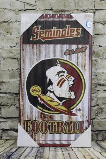 Florida State Seminole Wall Hanger