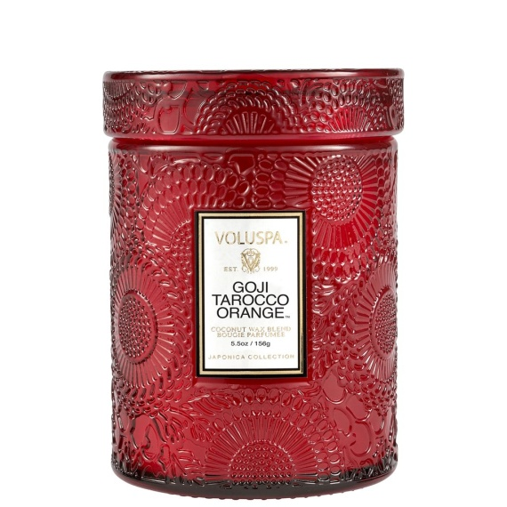 Gojio Tarcco Orange Small Jar Candle