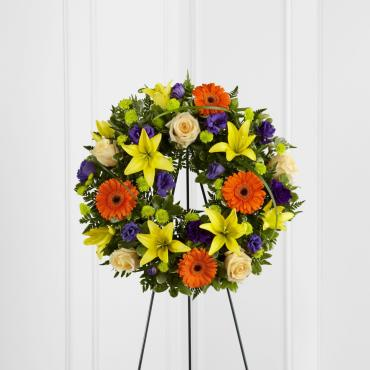 Radiant Remembrance Wreath