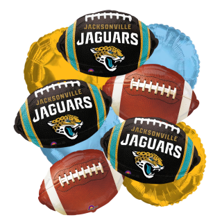 Jaguars Balloon Bouquet