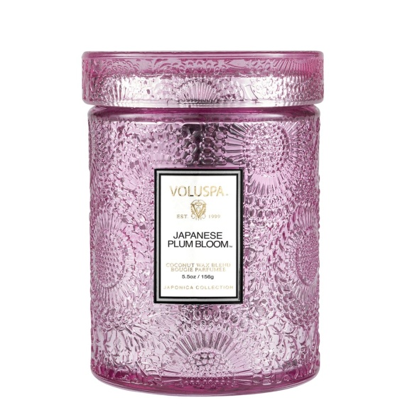 Japanese Plum Bloom Small Jar Candle