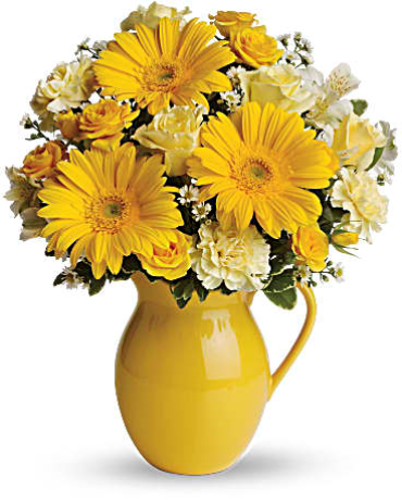 Teleflora Sunny Day Pitcher Of Cheer