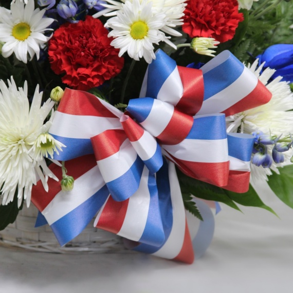 Patriotic Basket