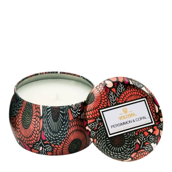 Persimmon & Copal Petite Tin Candle
