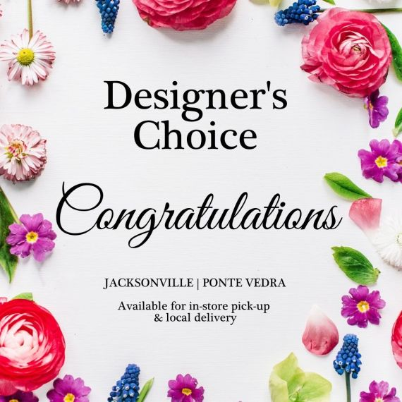 Congratulations Designer\'s Choice