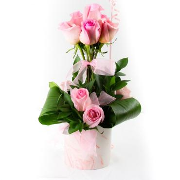 Think Pink - Rose Topiary