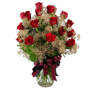 2 Dozen Roses Seminole Colors