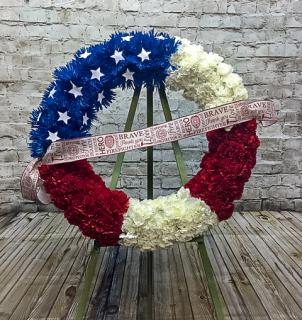 Firefighter Wreath