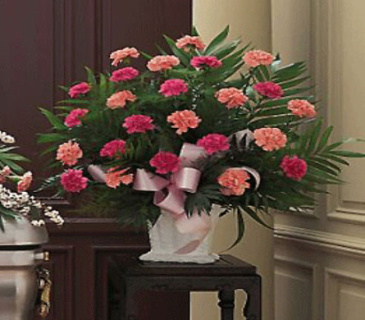 Classic Carnations Arrangment