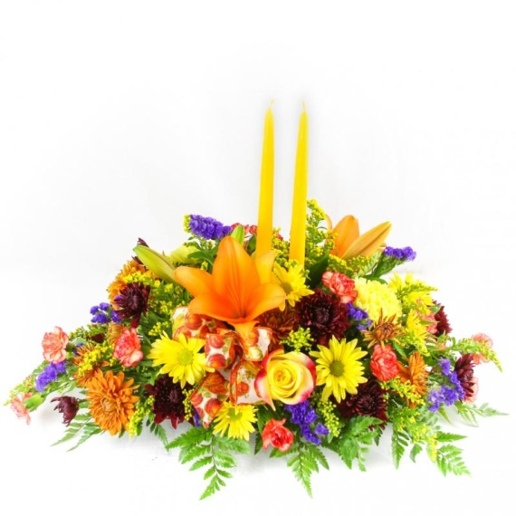 Autumn Fields Centerpiece