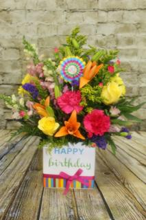 FTD Birthday Brights Bouquet