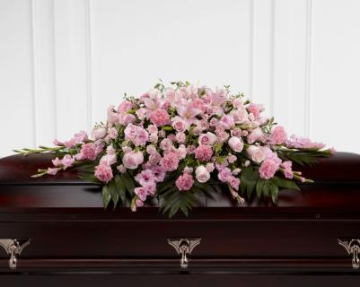 Sweetly Rest Casket Spray - Full