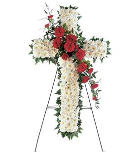 Sympathy Hope and Honor Cross