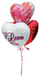 Add 3 Mylar Balloons